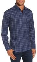 Zachary Prell Men's Goldstein Slim Fit Plaid Sport Shirt