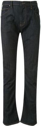 Emporio Armani High Rise Straight-Leg Jeans