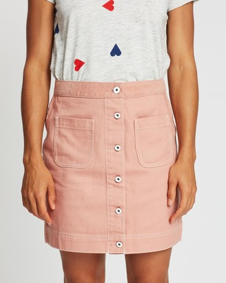 Maison Scotch Workwear Details Skirt