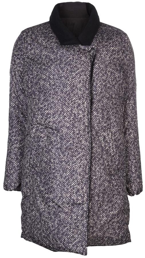 Maison Martin Margiela herringbone puffer jacket