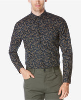 Perry Ellis Men's Paisley Leaf Shirt