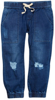 Hudson Distressed Jogger Pant (Little Girls)