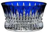 Waterford Lismore Diamond Cobalt Nut Bowl