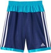 adidas Boys 4-7x Colorblocked Striped Shorts