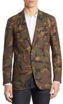 Polo Ralph Lauren Morgan Slim-Fit Camo Cotton Sportcoat