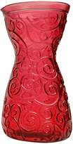 French Home 40-ounce Cranberry Red Decanter