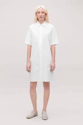 Cos ORGANIC-COTTON SHIRT DRESS