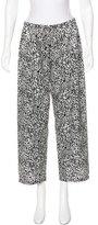 Oscar de la Renta Pajama High-Rise Pants