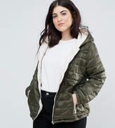 New Look Plus New Look Curve Lightweight Padded Jacket