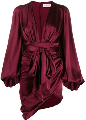 Alexandre Vauthier Asymmetric Wrap-Style Dress