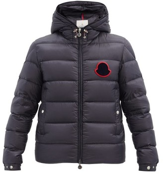 Moncler Sassiere Quilted-down Hooded Jacket - Navy