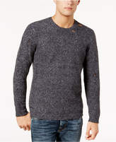 GUESS Men's Deconstructed Knit Sweater
