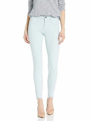 DL1961 Women's Florence Crop Mid Rise Skinny Fit Jean