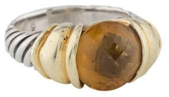 David Yurman Citrine Cable Ring