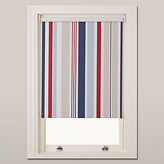 John Lewis Coastal Stripe Blackout Roller Blind, Multi