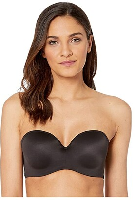 Bali One Smooth Strapless Underwire Bra (Black) Women's Bra