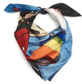 Marc Jacobs Women's Embroidered Silk Scarf