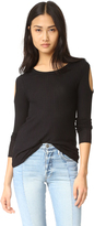 Chaser Cold Shoulder Long Sleeve