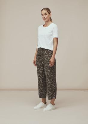 Fleck Print Trouser