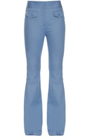 ADAM by Adam Lippes Flared stretch-cotton trousers