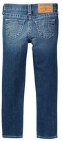 True Religion Single End Skinny Jean (Toddler & Little Girls)