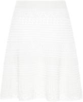 Emilio Pucci Crochet Flared Skirt