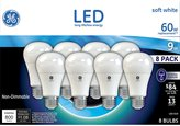 GE 60W Replacement LED 8 pack
