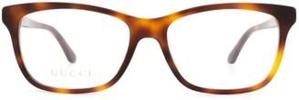 Gucci Gg0731o Havana Glasses