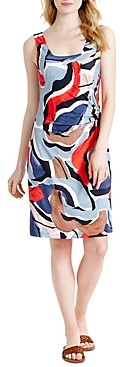 Nic+Zoe Petites Americana Sleeveless Printed Dress