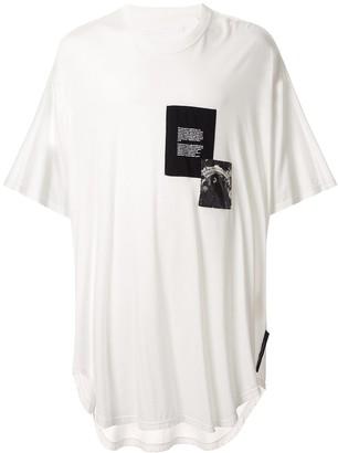 Julius patch-work oversized T-shirt