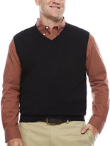 Izod Fieldhouse V-Neck Sweater Vest - Big & Tall