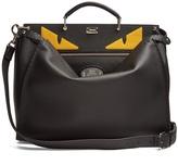 Fendi Peekaboo Bag Bugs-appliqué leather bag