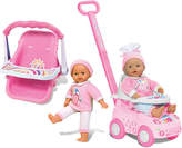 Small World Toys All About Baby Time To Travel Twins Teresa & Elise Doll