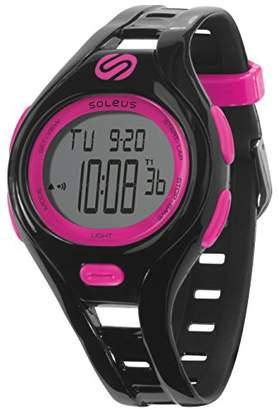 Soleus Women's SR019-011 Dash Small Digital Display Quartz Black Watch