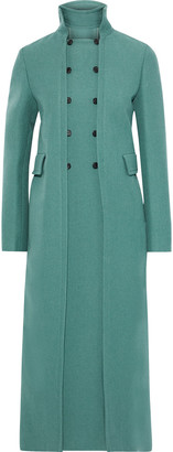 Valentino Convertible Double-breasted Wool Coat