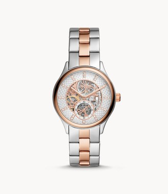 Fossil Modern Sophisticate Automatic Two-Tone Stainless Steel Watch