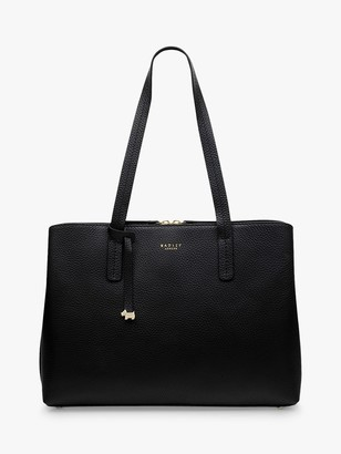 Radley Dukes Place Leather Large Open Top Work Bag