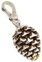 Juicy Couture Pine Cone Charm - Special Silver Collection