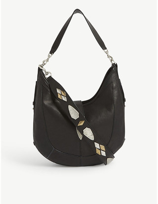 Isabel Marant Kaliko leather hobo bag