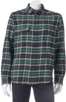 Woolrich Men's Tall Pine Classic-Fit Heavyweight Flannel Button-Down Shirt