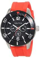 "Nautica Men's N14626G NSR 11 ""Classic"" Stainless Steel Watch"