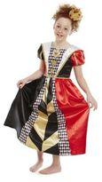 Disney Alice in Wonderland Queen of Hearts Dress-Up Costume, Kids Unisex