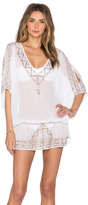 Ale By Alessandra Embroidered Tunic Cover Up
