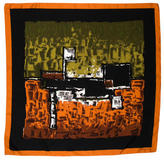 Dolce & Gabbana Abstract Print Square Scarf