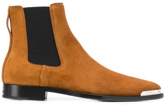 Givenchy metal tip Chelsea boots
