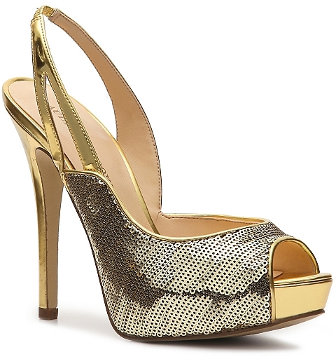Audrey Brooke Betty Sequin Pump
