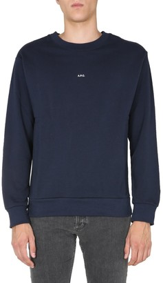 A.P.C. Logo Crew Neck Sweater
