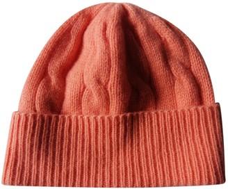 Ralph Lauren Orange Cashmere Hats