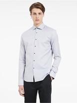 Calvin Klein Platinum Refined Melange Shirt