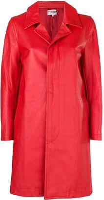 Comme des Garcons Pre-Owned 2000's faux leather coat